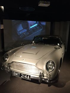 An Aston Martin DB 5 - what every classy lady wants