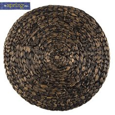 Natural Round Woven Placemat