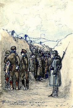 Documents from Henri Antoine. Europeana 1914-1918, CC BY-SA