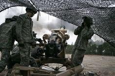 Alpha Battery Gun Devils conduct live-fire exercises on Fort Bragg.    http://www.facebook.com/media/set/?set=a.10151329151578805.496678.96324593804=1