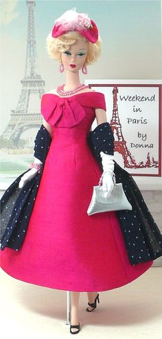 Weekend in Paris - HAT --  #Barbie Tutorials  #Barbie Shoes/Purses/Belts