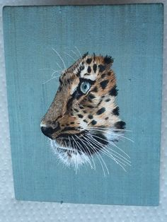 Leopard, for RSN advanced silk-shading 2014 by Alena Chenevix Trench