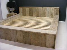 Bedroom Storage Furniture Diy Platform Bed New Ideas Bed Frame Design, Diy Bed Frame, Bedroom Bed Design, Diy Bedroom Decor, Diy Storage Furniture, Bed Storage, Bedroom Storage, Pallet Furniture, Timber Beds