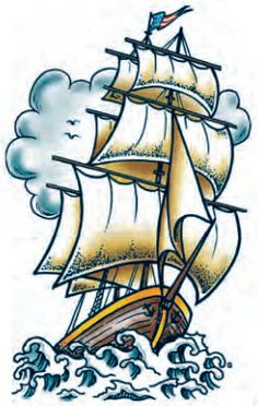 Anchor's Away Temporary Tattoo