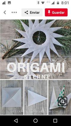 Origami, Hanukkah, Wreaths, Home Decor, Decoration Home, Door Wreaths, Room Decor, Origami Paper, Deco Mesh Wreaths
