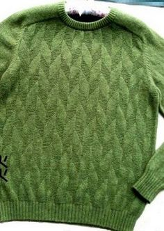 Scheme for sweater knitting