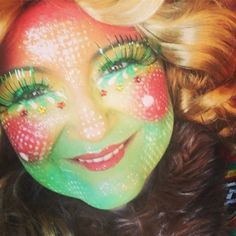Carnaval Vasteloavend in Ech. Famous Last Words, Diy And Crafts, Halloween Face Makeup, Make Up, Beauty, Face Paintings, Homemade, Face, Corning Glass