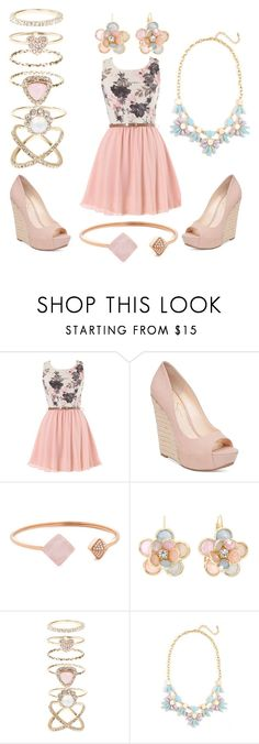 """""""Untitled #7"""" by becca49112 ❤ liked on Polyvore featuring Jessica Simpson, Michael Kors, Mixit and Accessorize"""