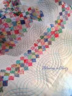This is all done with a walking foot, it's do-able for the beginner, you can do this on your home sewing machine with the proper accessories, and the results are worth the extra effort.