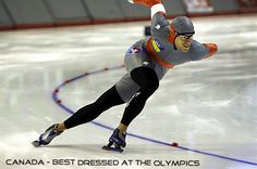 speed skating - this form is so powerful!
