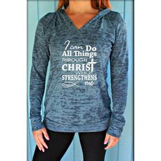 Women's Stylish Hooded Letter Long Sleeve Sweatshirt