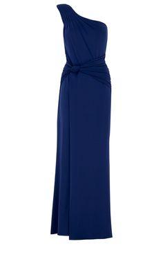 Suzannah Long Blue Dress
