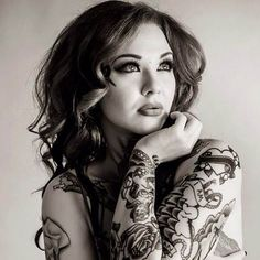 Tattooed Model Cara Mia - Inked Magazine