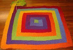 zehn-maschen-decke (german knitting pattern) (original: frankie's ten-stitch-blanket)