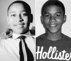 AN AFRICAN American teenager murdered in the South. His killer goes unpunished. The authorities and local media blame the victim. But his death sparks a mass movement against racism.     That could describe the case of 17-year-old Trayvon Martin, shot and killed by a neighborhood watch volunteer in Florida in February 2012. But it's also the story of 14-year-old Emmett Till, who was killed by members of the Ku Klux Klan in Money, Miss., in 1955.