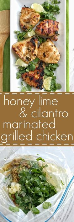 Fire up the grill for this Honey lime