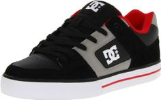 DC Shoes Mens Pure Skateboarding Shoes: Amazon.co.uk: Shoes & Bags #DC #Amazon