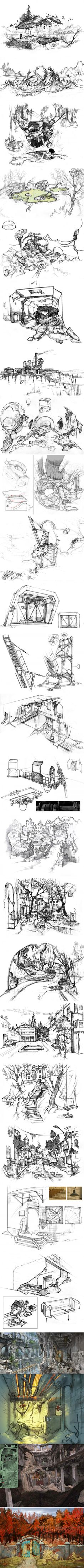 Концепт арты S.T.A.L.K.E.R. Чистое небо Официальные концепт арты разработчиков