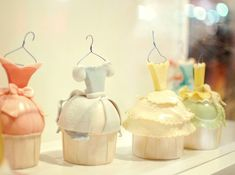 Reminds me of Cinderellla!  cupcake dresses by ~puddingpolaroid on deviantART