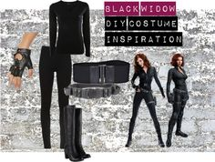 Black Widow DIY Costume Inspiration