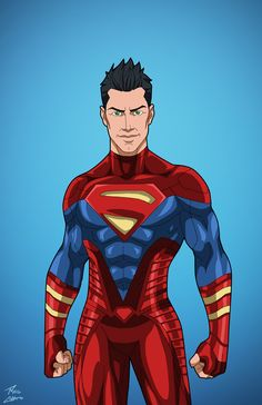 Superboy (Earth-27) Titan commission by phil-cho on DeviantArt