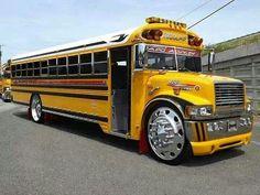 Pimped out bus