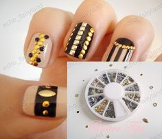 Nail art initials for your toes on etsy 250 my style pinboard httpiebayimgt300pcs 12 nail designnail artnail prinsesfo Gallery