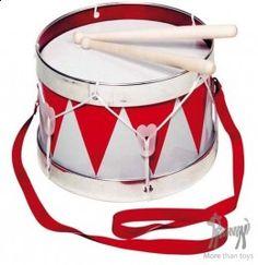 Bębenek w Sztuka dla dzieci Muzyka instrumenty Pikinini-More than toys, zabawki ekologiczne, gotowanie z dziećmi, Pippi, Muminki, zabawki, o...