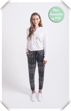 Anima Pant  relaxed pant pattern