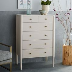 On sale for $699, perfect dimensions for the closet Harper 6-Drawer Dresser