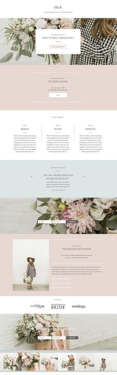 With Grace and Gold - Wordpress Business Themes - Ideas of Wordpress Business Themes - With Grace and Gold Layout Design, Website Design Layout, Web Design Tips, Web Design Trends, Page Design, Website Designs, Flat Design, Website Styles, Wedding Website Design