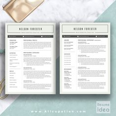 @allcupation Professional Resume Template, CV Template, 1, 2 and 3 Page Resume, Extra Experience Template, Cover Letter, References, Gorgeous Social Icons and Fonts, MS Word, Mac and PC, Instant Download, Premium Customer Support, Coupon Code, NELSON | www.allcupation.com |