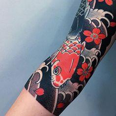 koi fish tattoo for men - koi fish tattoo . koi fish tattoo for men . koi fish tattoo meaning . Japanese Koi Fish Tattoo, Tattoo Japanese Style, Japanese Tattoos For Men, Japanese Tattoo Symbols, Traditional Japanese Tattoos, Japanese Tattoo Designs, Japanese Sleeve Tattoos, Tattoo Designs Men, Koi Tattoo Sleeve