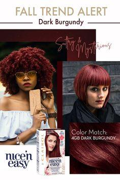 Dark Burgundy Hair Color, Hair Color Purple, Hair Color For Black Hair, Dyed Natural Hair, Dyed Hair, Twisted Hair, Natural Hair Styles For Black Women, Brown Blonde Hair, Permanent Hair Color