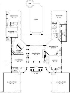 Pingree House Plan - Best Selling - House Plan - First Floor Plan