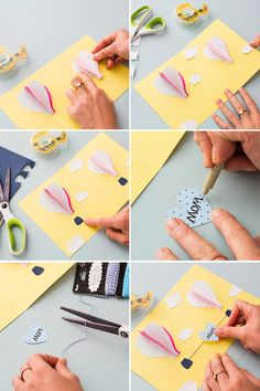 Celebrate Mother's Day with this handmade pop-up card.