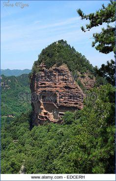 cool Grottoes of Maijishan (Maijishan Shiku)