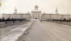Agnews Asylum upon completion in 1888. Check out our blog post about it!
