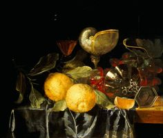 Still Life Paintings By Masters | Still life - The Master of Holland and all similar color images.