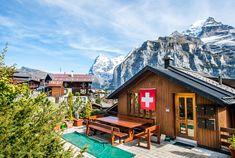 Mürren in Switzerland - where to go in Switzerland
