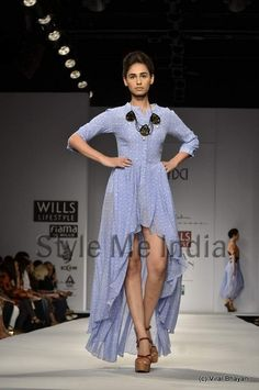 Anand Kabra collection at Wills Lifestyle India Fashion Week Spring- Summer 2013 (9)