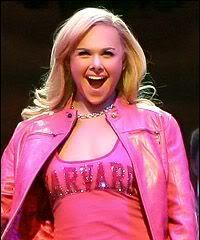 Laura Bell Bundy as Elle Woods taking on Harvard in Legally Blonde the Musical.  More than enough said.