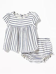 bbfb5f2c1df47b Crinkle-Jersey Sleeveless One-Piece 2-Pack for Baby | Old Navy Toddler