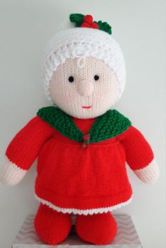 Mrs Claus Christmas knitting project by Bee53 on the LoveKnitting Community