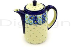 Polish Pottery Tea or Coffee Pot