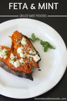 com feta mint grilled sweet potatoes feta and mint grilled ...
