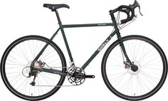 Surly, Disc Trucker 700c cykel, super dark green, 62 cm i gruppen Racer/Cross / Cyklar / Surly hos Cyclecomponents.com (SUR0049-62)