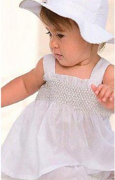 Vestito bambina set 3 pezzi sottana pantalone cappello cotone estate 2015