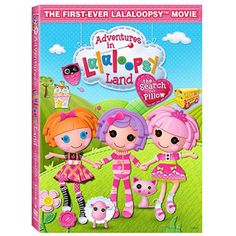 The first ever lalaloopsy movie. Pre-order now. Coming out in March. Sydney loves Lalaloopsy!