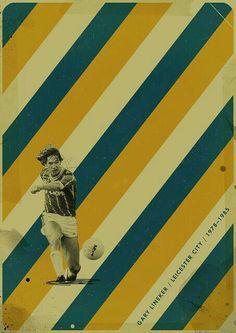 Gary Lineker of Leicester City wallpaper.
